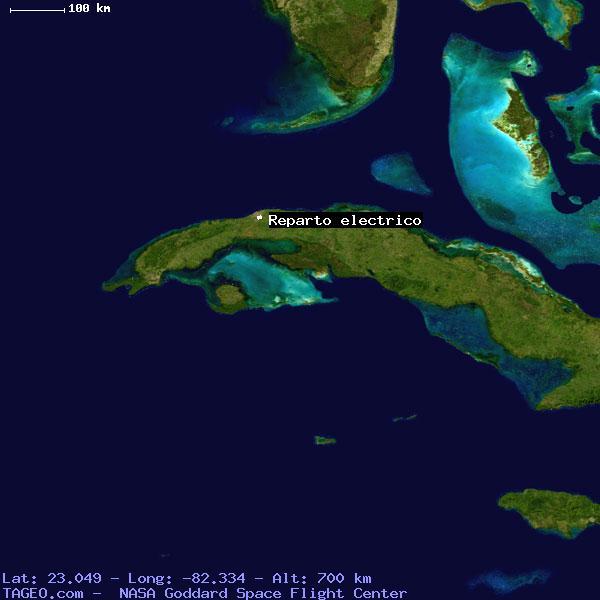 La Habana Cuba Map