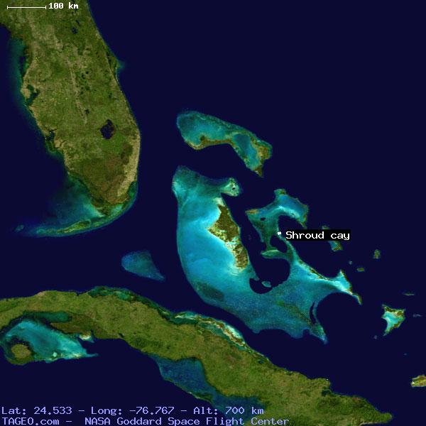 Shroud cay exuma bahamas geography population map cities coordinates shroud cay sciox Images