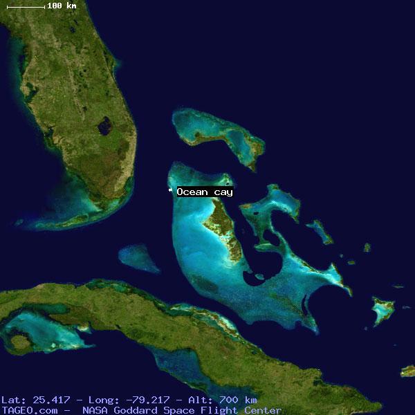 OCEAN CAY BIMINI BAHAMAS Geography Population Map cities