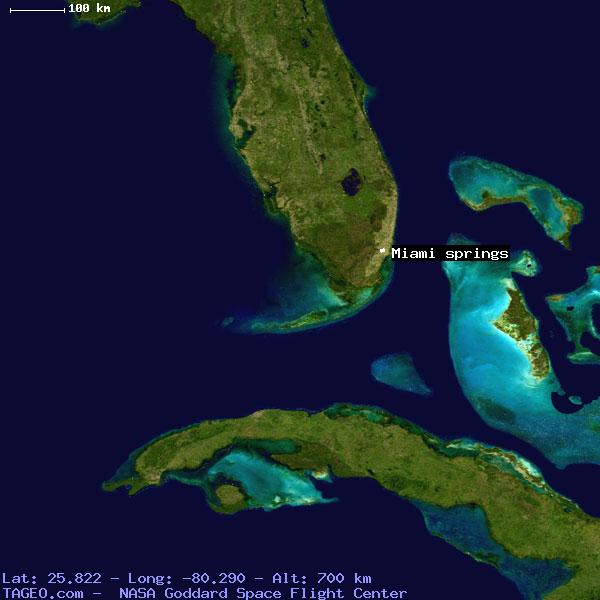 Miami Springs Florida Map.Miami Springs Florida United States Geography Population Map Cities