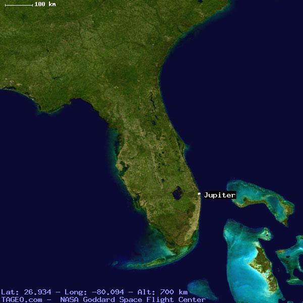 Map Of Florida Showing Jupiter.Jupiter Florida United States Geography Population Map Cities