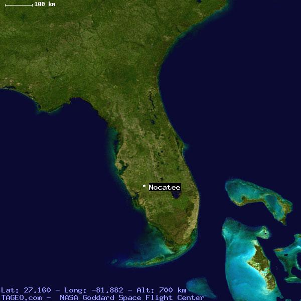 Nocatee Florida United States Geography Population Map Cities