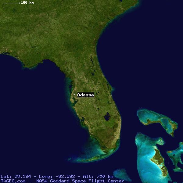 Odessa Florida United States Geography Population Map Cities