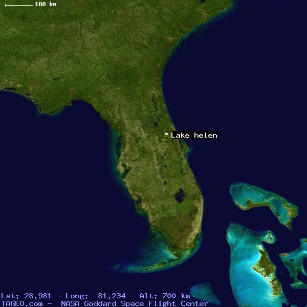 Lake Helen Florida United States Geography Population Map Cities