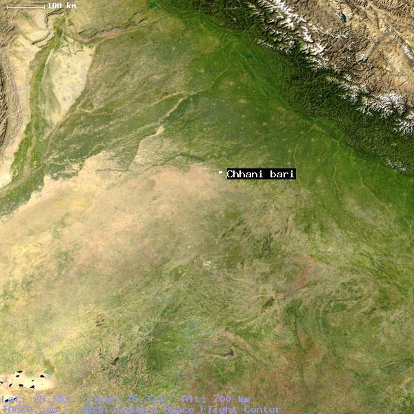 CHHANI BARI RAJASTHAN INDIA Geography Population Map Cities - Bari map