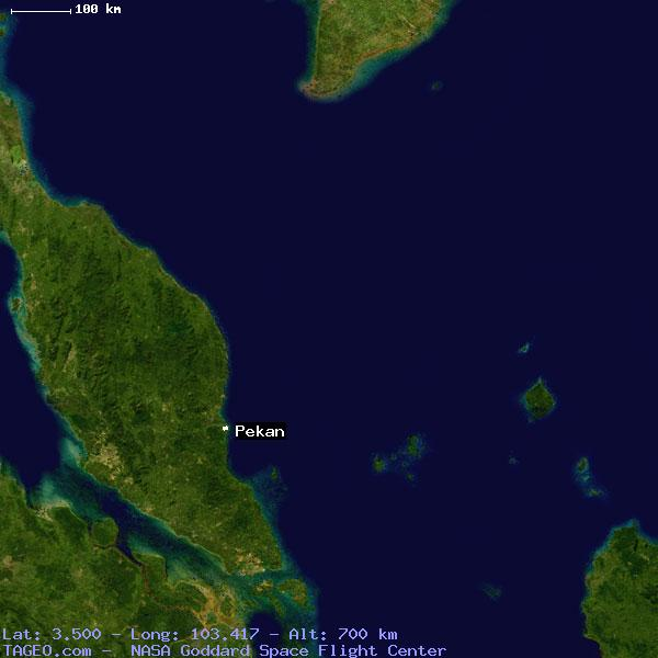 Pekan Malaysia  city photo : PEKAN PAHANG MALAYSIA Geography Population Map cities coordinates ...