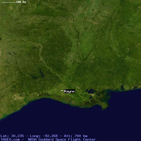 Rayne Louisiana United States Geography Population Map Cities