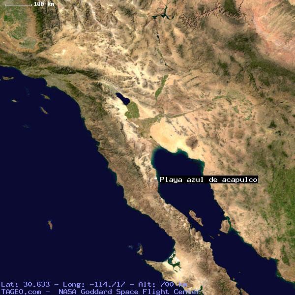 PLAYA AZUL DE ACAPULCO BAJA CALIFORNIA MEXICO Geography ...