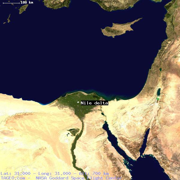 NILE DELTA EGYPT GENERAL EGYPT Geography Population Map Cities - Map of egypt nile delta