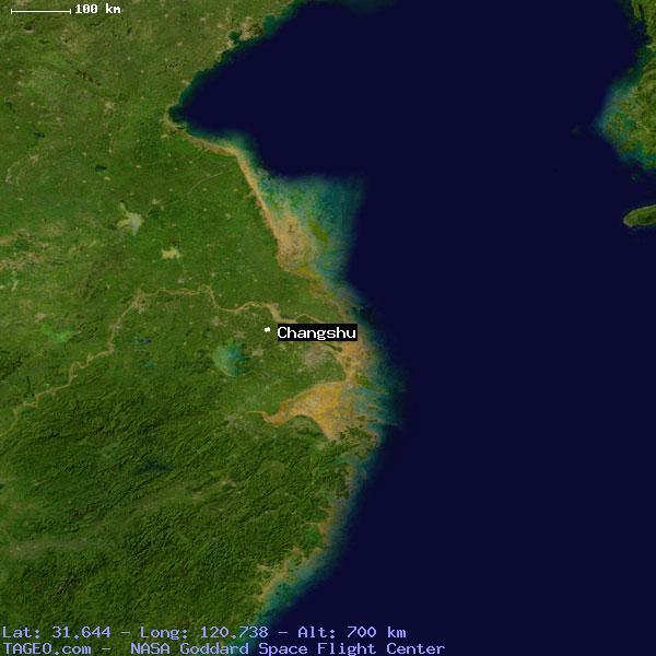Changshu China  city photos gallery : CHANGSHU JIANGSU CHINA Geography Population Map cities coordinates ...