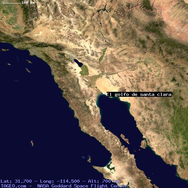Golfo De Mexico Map.El Golfo De Santa Clara Sonora Mexico Geography Population Map