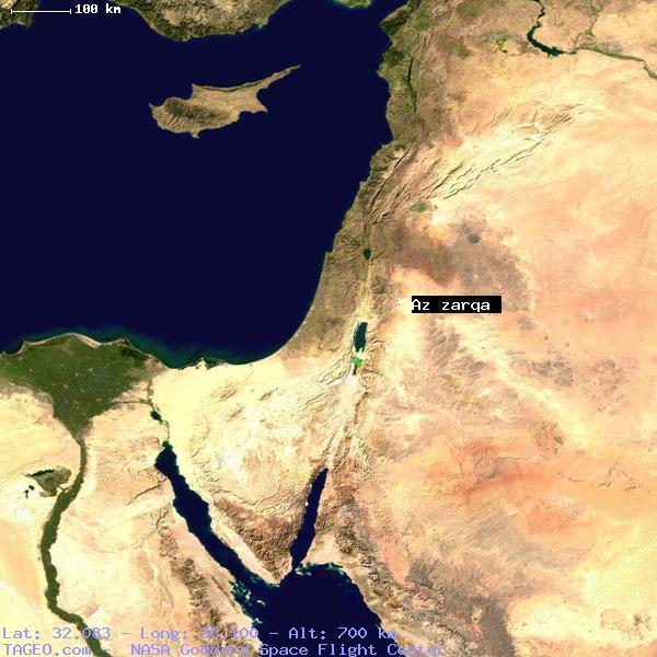 Az zarqa jo13 jordan geography population map cities coordinates az zarqa gumiabroncs Images