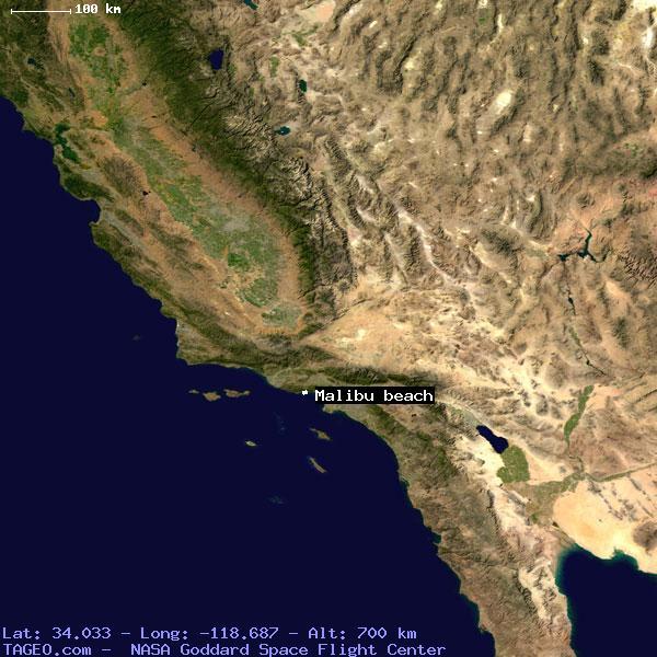 Malibu Beach California United States Geography Potion Map Cities Coordinates Location Tageo