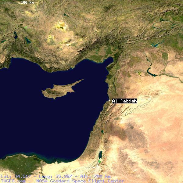 AL ABDAH LIBAN NORD LEBANON Geography Population Map Cities