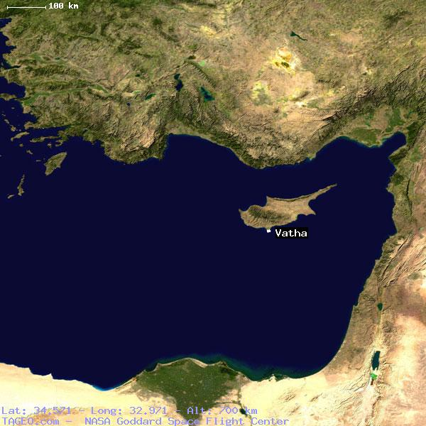 Vatha limassol cyprus geography population map cities coordinates satellite view of vatha gumiabroncs Images