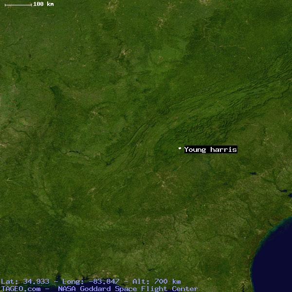 Map Of Young Harris Georgia.Young Harris Georgia United States Geography Population Map Cities