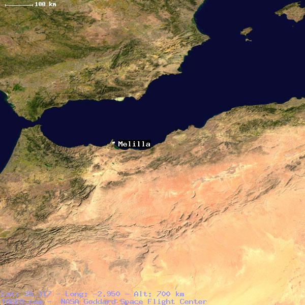 Melilla Spain Map.Melilla Spain General Spain Geography Population Map Cities