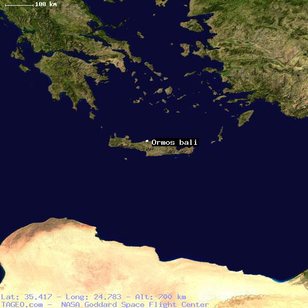 Ormos Bali Greece General Greece Geography Population Map