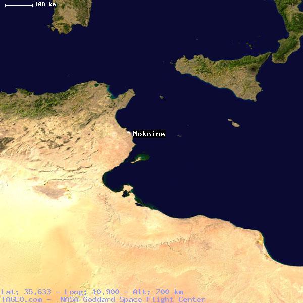 Al Munastir Tunisia  City pictures : MOKNINE AL MUNASTIR TUNISIA Geography Population Map cities ...