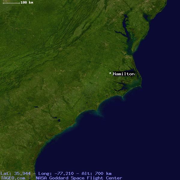 Hamilton Nc Map.Hamilton North Carolina United States Geography Population Map