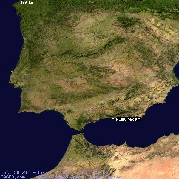 Almunecar Spain Map.Almunecar Andalucia Spain Geography Population Map Cities