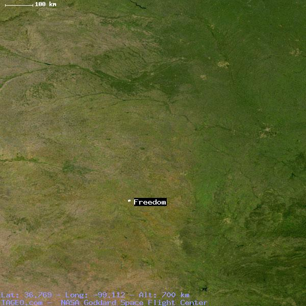 Freedom Oklahoma Map.Freedom Oklahoma United States Geography Population Map Cities