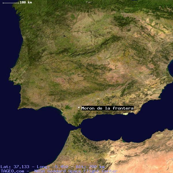 Moron Spain Map.Moron De La Frontera Andalucia Spain Geography Population Map Cities
