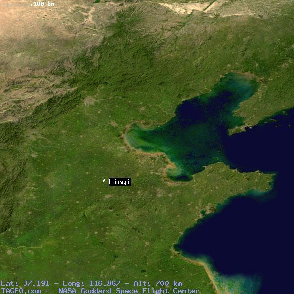 LINYI SHANDONG CHINA Geography Population Map Cities Coordinates - Linyi map