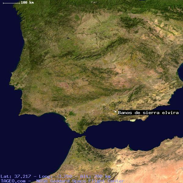 Banos Elvira.Banos De Sierra Elvira Andalucia Spain Geography Population