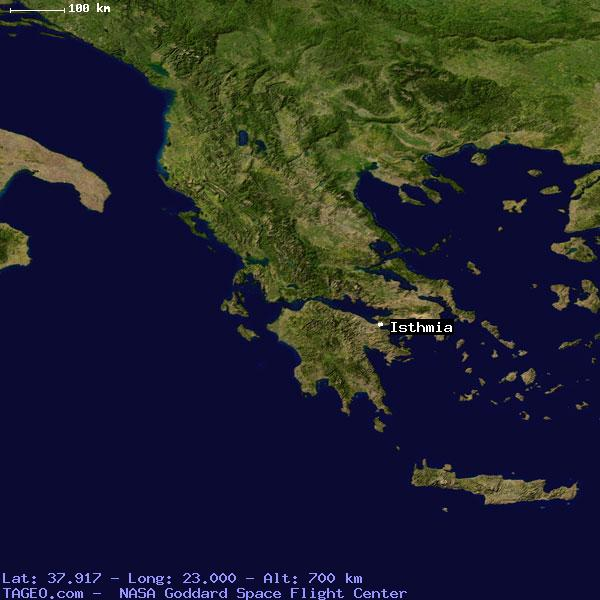 Isthmia Greece  city photos : ISTHMIA GREECE GENERAL GREECE Geography Population Map cities ...