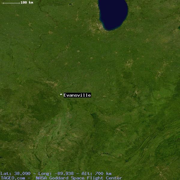 Evansville Illinois Map.Evansville Illinois United States Geography Population Map Cities