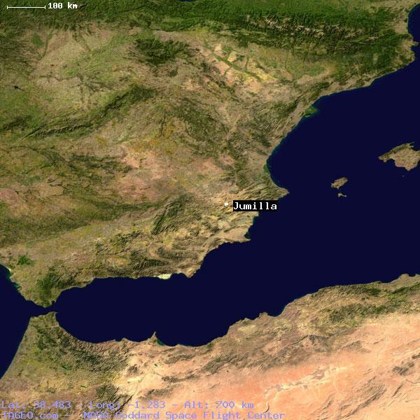 Jumilla Murcia Spain Geography Population Map Cities Coordinates