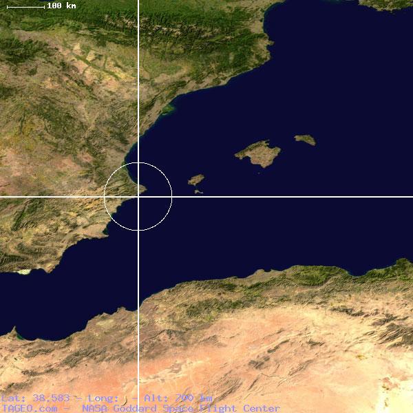 Albir Spain  city photos gallery : ALBIR VALENCIANA SPAIN Geography Population Map cities coordinates ...