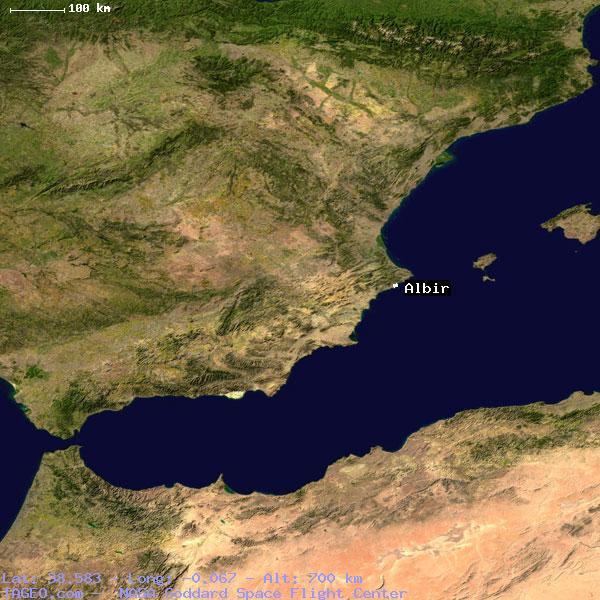 Albir Spain  city pictures gallery : ALBIR VALENCIANA SPAIN Geography Population Map cities coordinates ...