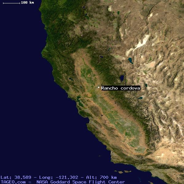 Rancho Cordova California Map.Rancho Cordova California United States Geography Population Map