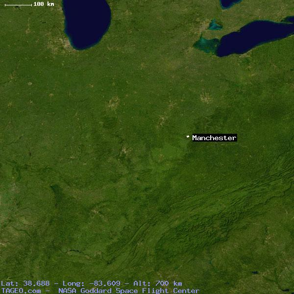 Manchester Ohio Map.Manchester Ohio United States Geography Population Map Cities