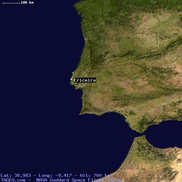 ERICEIRA LISBOA PORTUGAL Geography Population Map Cities - Portugal map ericeira