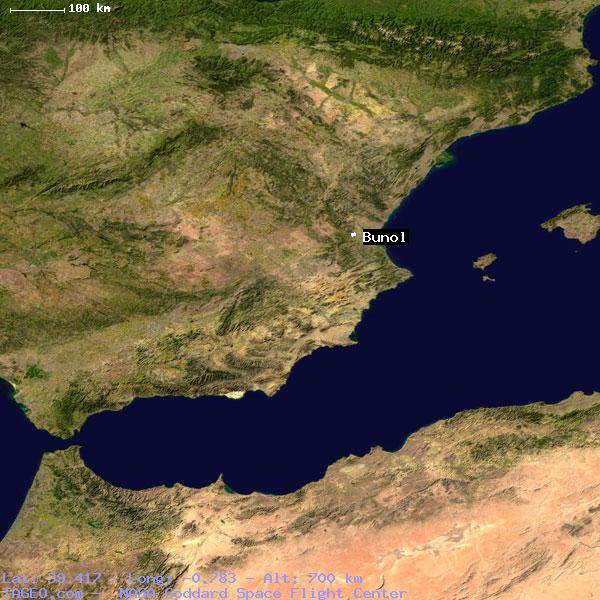 Map Of Spain Geography.Bunol Valenciana Spain Geography Population Map Cities Coordinates
