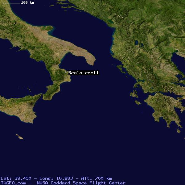 SCALA COELI ITALY (GENERAL) ITALY Geography Population Map cities