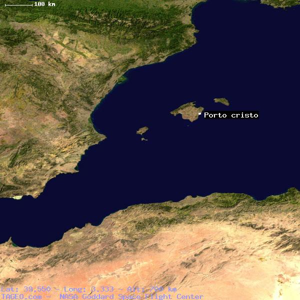 Google Earth Map Of Spain.Porto Cristo Islas Baleares Spain Geography Population Map Cities