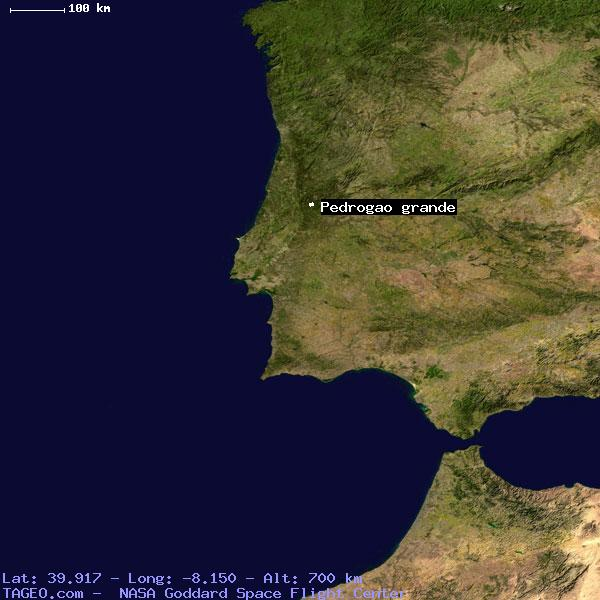PEDROGAO GRANDE LEIRIA PORTUGAL Geography Population Map Cities - Portugal map satellite