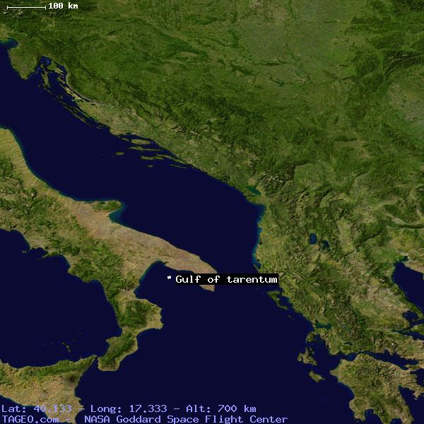 Tarentum Italy Map.Gulf Of Tarentum Italy General Italy Geography Population Map