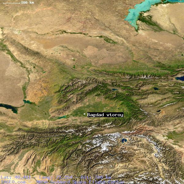 satellite view of bagdad vtoroy