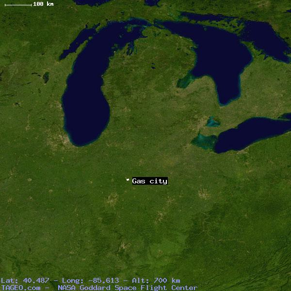 Gas City Indiana Map.Gas City Indiana United States Geography Population Map Cities