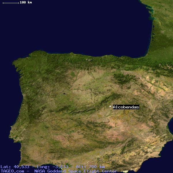 Map Of Spain Geography.Alcobendas Madrid Spain Geography Population Map Cities Coordinates