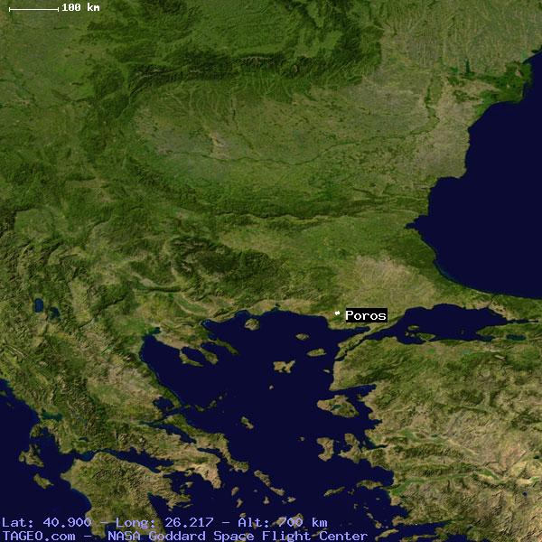 Poros Greece Map.Poros Greece General Greece Geography Population Map Cities