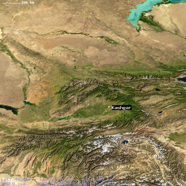 KASHGAR UZBEKISTAN (GENERAL) UZBEKISTAN Geography Population Map ...
