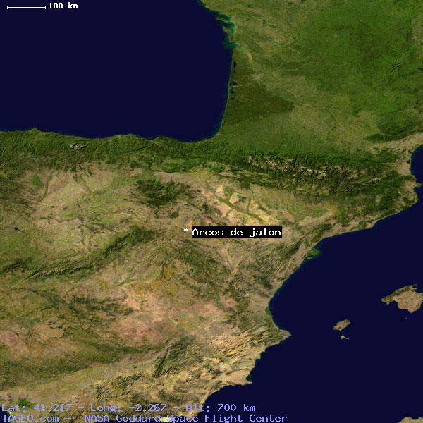 Map Of Spain Jalon.Arcos De Jalon Castilla Y Leon Spain Geography Population Map Cities