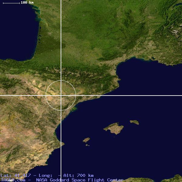 Moron Spain Map.Moron De Almazan Castilla Y Leon Spain Geography Population Map