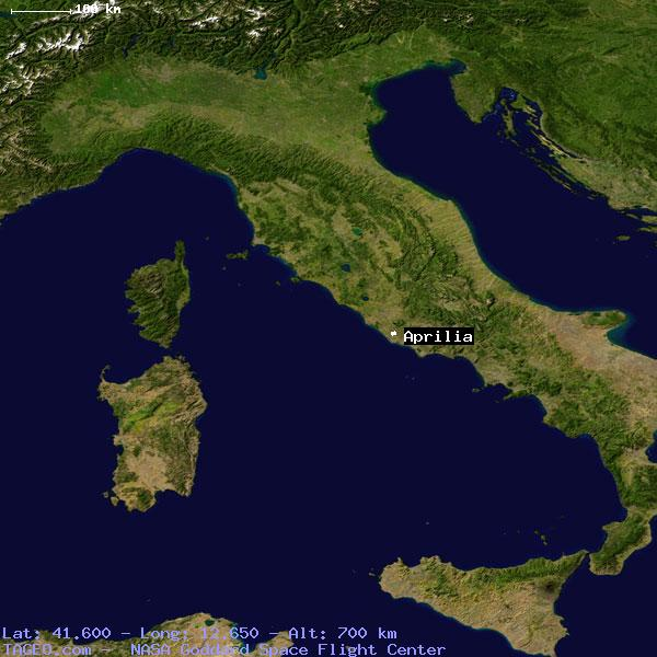 Aprilia Italy  City new picture : APRILIA ITALY GENERAL ITALY Geography Population Map cities ...